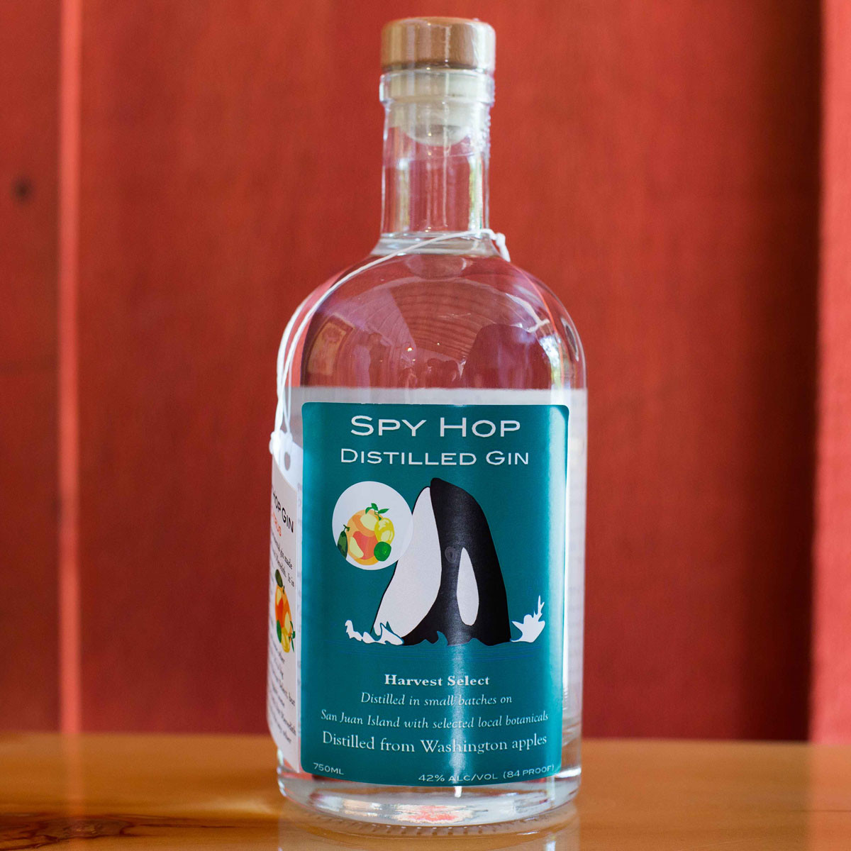 San Juan Island Distilley Spy Hop Distilled Gin Harvest Select Citrus